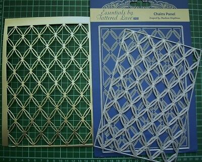 CHAINS PANEL - Large Background DIE SET ETL102 for all occasions - Tattered Lace
