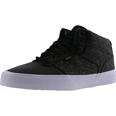 Vans Men's Bedford Tweed Mid-Top Fabric Skateboarding Shoe