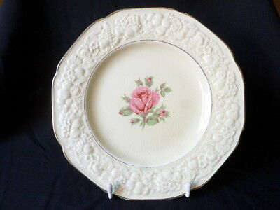 Crown Ducal. Florentine. (Rose Pattern). Entree Plate. Made In England.
