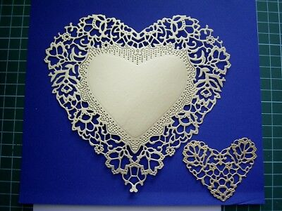 ORNAMENTAL ANTIQUE LACE HEART DIE - TLD0282 Tattered Lace StephanieWeightman