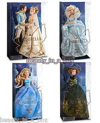 Cinderella Prince Disney Doll Wedding Fairy Godmother Tremaine Live Action Film