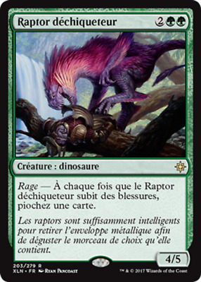 MTG Magic - Ixalan - Raptor déchiqueteur - Rare  VF