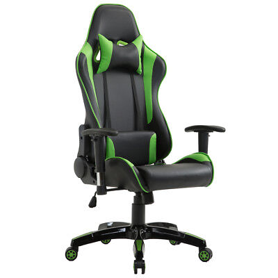 Office Gaming Chair Racing Computer Recliner Chair High Back Business Desk Seat