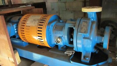 Goulds Process Pump Model 3196 Size 1x1.5-6 3500RPMM Stage: 1 With motor