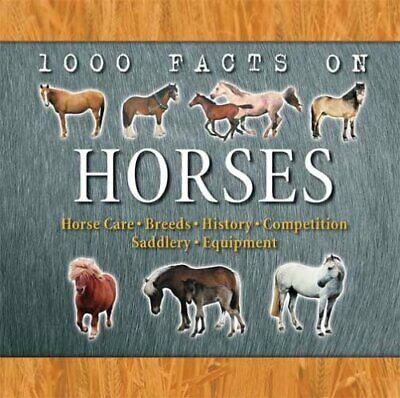 Horses (1000 Facts on...) by Curry, Marion Paperback Book The Cheap Fast Free