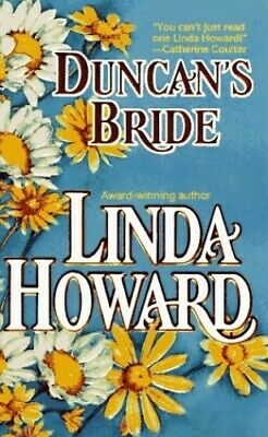 Duncan's Bride (Duncan and Evangeline) by Howard, Linda Paperback Book The Cheap