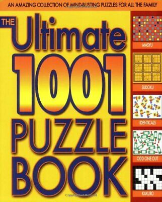The Ultimate 1001 Puzzle Book by Dedopulos, Tim Paperback Book The Cheap Fast