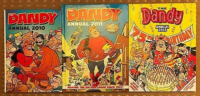 Dandy Annual x 3 in VGC - FREEPOST