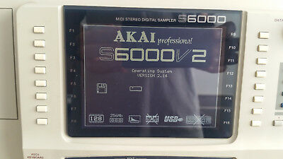 AKAI S6000, 256MB, 16x Outs, FX Card, 128 VOX, USB, HDD 146GB and fly case