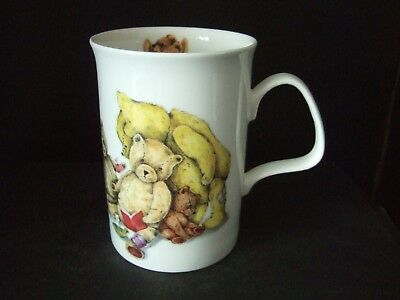 "Roy Kirkham ""Teddies"" Bone China Mug #2 1992"