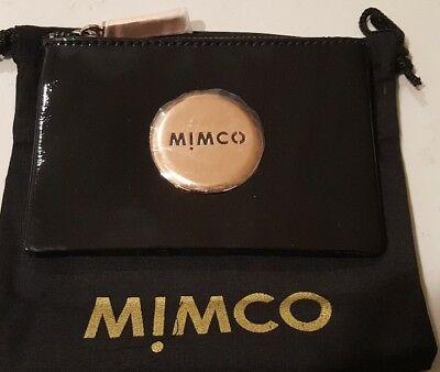 Mimco small rose gold Pouch BNWT RRP$69.95