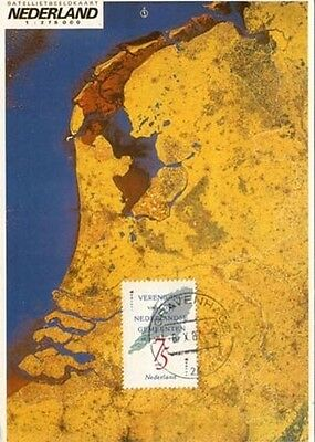 Netherlands  Municapalities   Maxi Card FDC