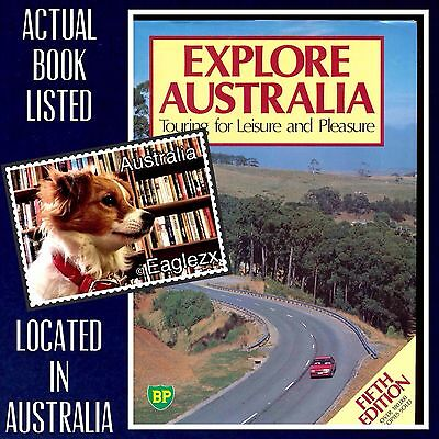 Explore Australia Touring For Leisure And Pleasure BP 5th Edition 1986 Hardcover