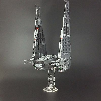 Display stand for LEGO Star Wars: Kylo Ren's Command Shuttle (75104)