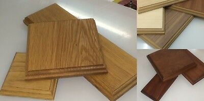 Wood Display bases and plinths CUSTOM MADE sizes
