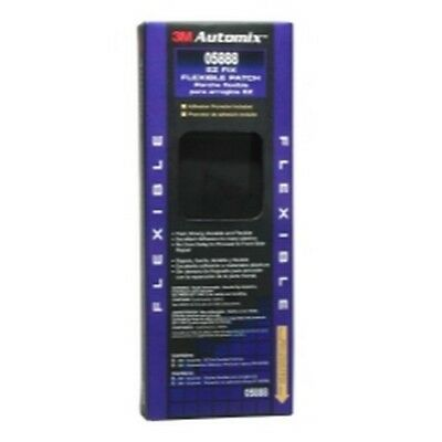 "3M 05888 Automix EZ Fix Flexible Patch, 4"" x 8"" - Plastic Repair"