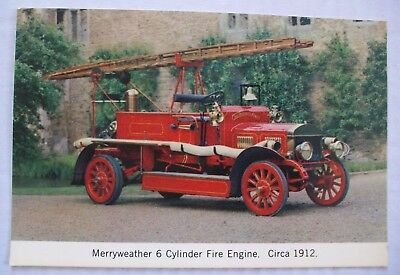 Vintage Merryweather 6 Cylinder Fire Engine - Formerly Harrow Fire Brigade - Ppc