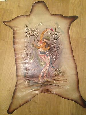 Very RARE and unusual Animal hide print. Gypsy Dancer