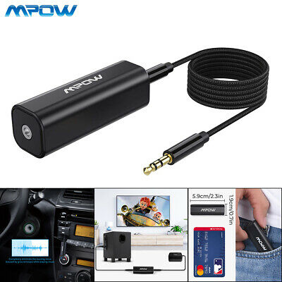 Mpow Ground Loop Noise Isolator for Car Audio / Home Stereo System with 3.5mm