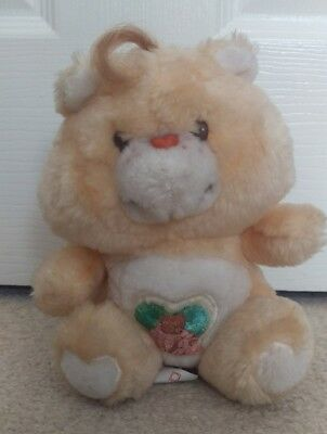 """Superb Condition Vintage Uk Edition 6"""" Forest Friend Care Bear Tonka 1983"""