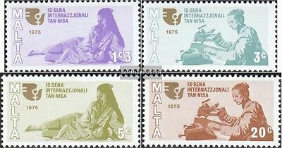 Malta 508-511 (complete.issue.) unmounted mint / never hinged 1975 Year the Woma