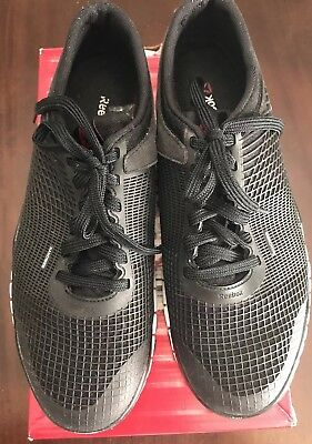 377840661e6 NEW! RBX MEN S Running Training Shoes Reebok size 11-Black Red-LIVE ...