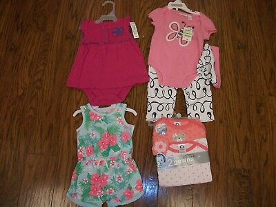 Nwt Girls Size 3-6 Months Lot Retail Over $33.00