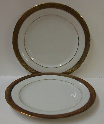 Centurion Collection PURE GOLD Salad Plates SETS OF TWO More Here Available