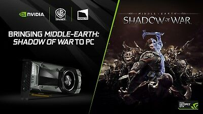 SHADOW OF WAR [AUS/ASIA] *ONLY FOR NVIDIA 1080, 1080 Ti* [PC-STEAM] - read desc.