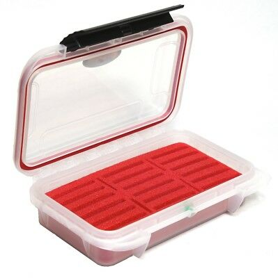 Waterproof CF Memory card Case ELCF-18TR see through Card Storage Compact Flash