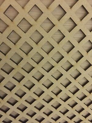 Radiator Cabinet Decorative Screening Perforated 3mm & 6mm thick MDF laser cut