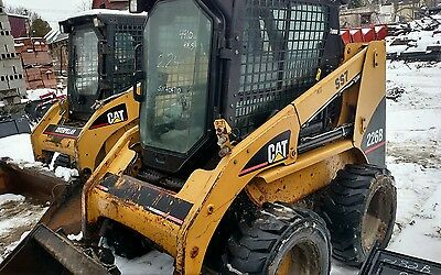 CAT 226 B  SKIDSTEER bobcat  SKID STEER LOADER w/ cab heat