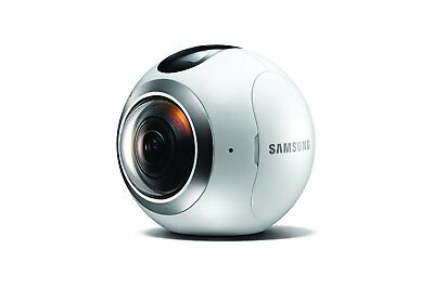 Samsung Gear 360 Real 360° High Resolution VR Video & Photo Camera (Refurbished)