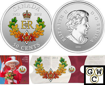 2012 'Queen's Diamond Jubilee' 50-Cent Coin (Silver Plated) (12982)