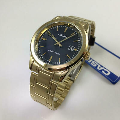 Men's Casio Gold Tone Solar Power Watch MTPVS01G-2A