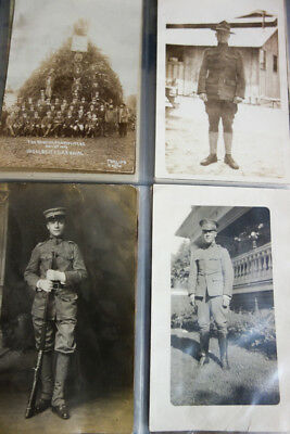 US Army WWI Picture Postcard Collection Merritt 1900's Lot of 170x Clean