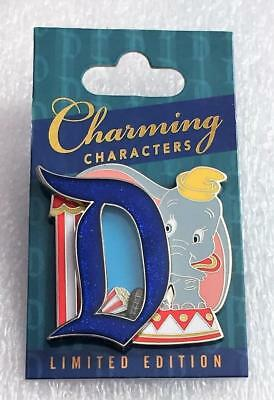 Disney Charming Characters Dumbo Gothic D Pin of The Month LE 3000