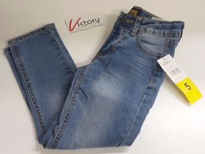 NEW Lee Youth's Boys Straight Fit Straight Leg Jeans Pants Size 5 8 10 12