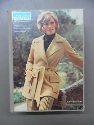 1973 Montgomery Ward Fall & Winter Catalog Fashion Home Decor Vintage Hard Cover