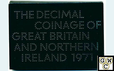 1971 The Decimal Coinage Of Great Britain And Northern Ireland (OOAK)