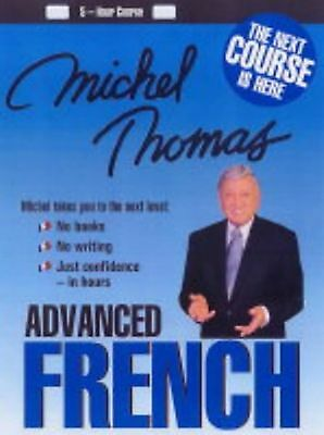 Michel Thomas Advanced French Course (4 CD's Total)