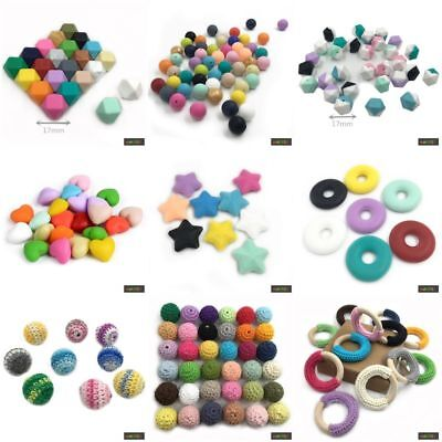 Baby Zahnt Kinder - Party Teether Kaut Armband Ring Hand Kette Diy - Teile 1PCS