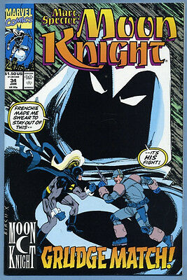 Marc Spector Moon Knight #34 1992 Marvel Comics