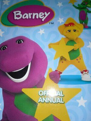Barney Annual 2007 Hardback Book The Cheap Fast Free Post