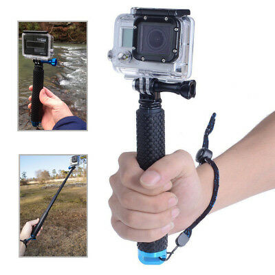 Extended Handheld Selfie Monopod Stick for GoPro Hero 5 Session Black 4 3+Camera