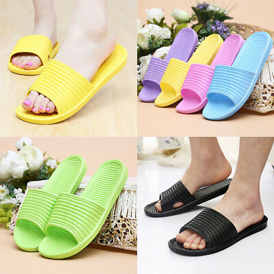 Hot Women Bath Slippers Hollow EVA Non-Slip Indoor Home Shoes outdoor Sandals