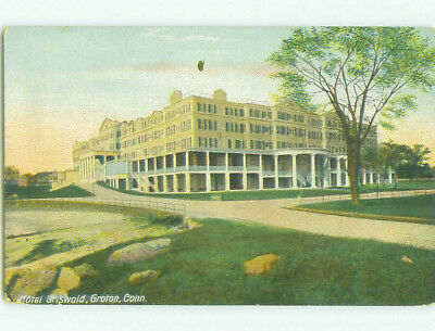 Unused Divided Back GRISWOLD HOTEL Groton Connecticut CT hr9450