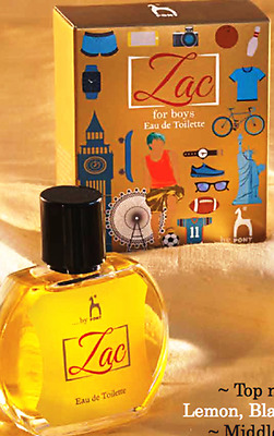 Zac 50ml Eau de Toilette Spray for Boys
