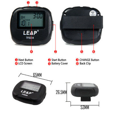 Training Electronics Interval Timer Sports Crossfit Boxing Segment Stopwatch