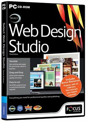 Select Web Design Studio 3rd Edition (PC-CD) BRAND NEW SEALED